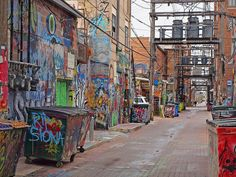 city alley - Google Search