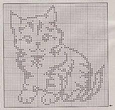 """Résultat de recherche d'images pour """"chat crochet filet"""""""