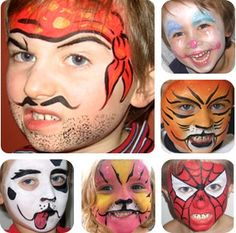 Face Painting Boy