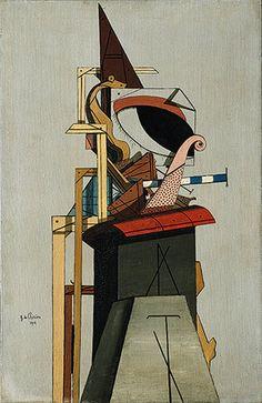 Giorgio de Chirico: The Jewish Angel (1999.363.15)   Heilbrunn Timeline of Art History   The Metropolitan Museum of Art
