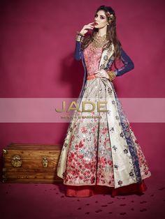 Bridal Couture '15-16 #TribalPrincess #Floral #Bridal #Lehenga