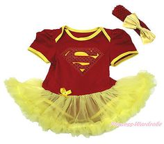 Super Hero World Cup Spain Red Bodysuit Yellow Girl Baby Dress Skirt NB-18Month in Clothes, Shoes & Accessories, Kids' Clothes, Shoes & Accs., Girls' Clothing (2-16 Years) | eBay