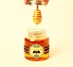 packaging, design, bottle, honey,