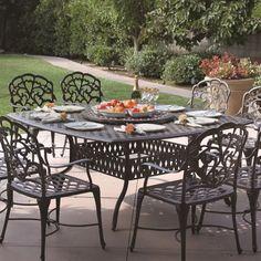 vidaXL Garden Dining Table Outdoor Patio Dinner Breakfast Dinette Lounge Table Balcony Terrace Furniture Outside Glass Black Poly Rattan
