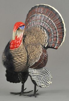 LOT #2156 - LARGE TURKEY CANDY CONTAINER