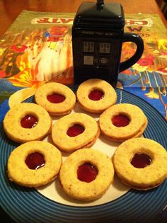 Laws of the Kitchen: Jammy Dodgers and the Dr Who Connection
