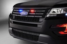 Полицейский Ford Interceptor 2015