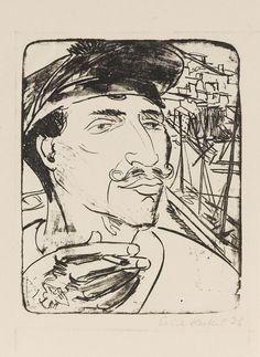 Erich Heckel - Sailor