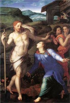 Noli me tangere - Agnolo Bronzino, 1561, Louvre  https://destepti.ro/care-este-originea-si-sensul-expresiei-noli-me-tangere