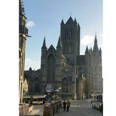 """Catedral de San Bavón"" Gante, Bruselas.  BySangoma  #places #sangoma #sango_photo #bysangoma #photograpy #photographer #sangomatravel #toursangoma"