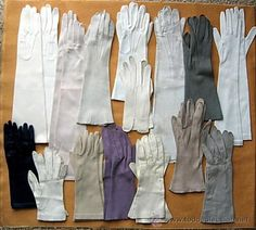 guantes - Leather, Various Lengths, Gloves... So Soft an Sensual...