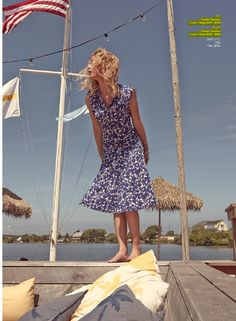 1891- The Strand Arcade, Spring Summer 2014 featuring Erin Heatherton.  Mini Brocade Print Skirt and Top