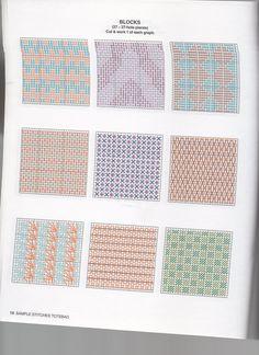 Borduren op Plastic Canvas: Voorbeelden, Ideeën, Patronen *Embroidery: Examples, Pattern ~DIY Boodschappentas 6/10~