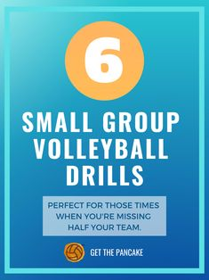 6 Small Group Volleyball Drills: Perfect for Holidays and Spring Break Practices! 6 Small Group Volleyball Drills: Perfect for Holidays and Spring Break Practices! Beach Volleyball, Volleyball Warm Ups, Volleyball Games, Volleyball Skills, Volleyball Practice, Volleyball Workouts, Volleyball Quotes, Coaching Volleyball, Basketball Drills