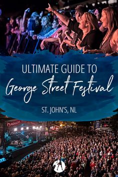 George Street Festival is the premier summer event in St. Every summer people flock to the biggest little street in Canda for the ultimate party. East Coast Canada, Canada Summer, Visit Canada, Newfoundland And Labrador, Traveling Tips, Summer Events, St John's, Canada Travel, Travel Ideas
