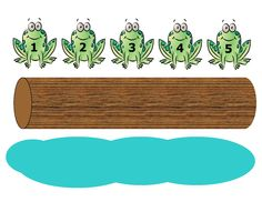 song 5 frogs on a log subtraction