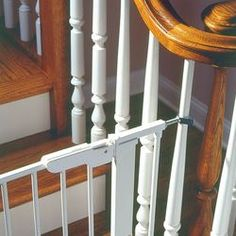 Spindle kit for baby gate
