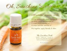 Young Living Essential Oils: Sunscreen