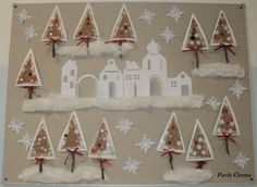Christmas Art Projects, Christmas Crafts, Christmas Decorations, Holiday Decor, Sunday School Crafts, Winter Art, Art Activities, December, Winter Time