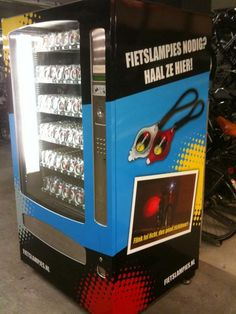 Fietslampjesautomaat