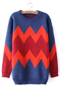 /\/\/\ Zigzag Sweater /\/\/\