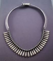 Afbeeldingsresultaat voor Taxco sterling modernist circle link bracelet