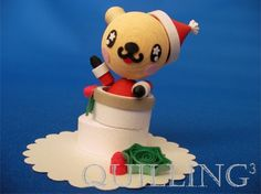 christmas quilling animal