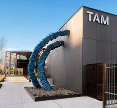 Exterior Cladding Chocolate Glacier Tacoma Art Museum Sustainable Exterior Richlite #makeitwithpaper