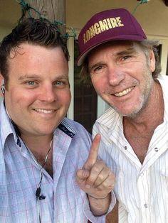 Adam Bartley and Robert Taylor  #Longmire