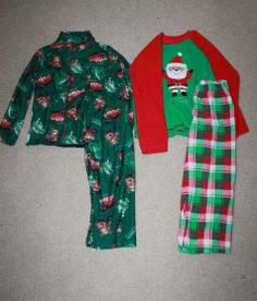 kids holiday pjs + clothes for under $10!