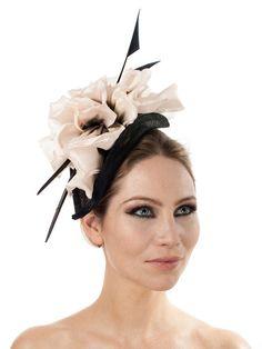 06ac95fe85a29 Camelia  bespoke hat by Jess Collett Milliner