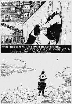 Sakura missing Sasuke. #naruto