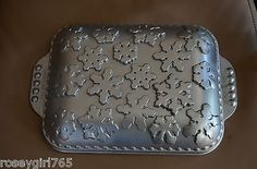 NORDIC WARE SNOWFLAKE BAKING CAKE PAN-CAST ALUMINUM-10 CUP NON-STICK | eBay