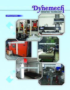 """""""Vibrating, rotating, reciprocating & impacting equipment create machine-induced vibration and/or shock, which is transmitted into their foundation , requiring active #vibrationisolation for optimum operation #dynemech #vibrationmountsindia.com"""