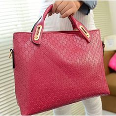 Soft PU Leather Shoulder Bags with Exterior Silt Pocket | Stylish Beth