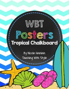 Tropical WBT Posters