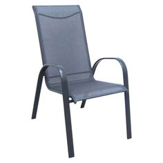 Much cheaper patio chair option-  Room Essentials® Nicollet Patio Stacking Chair - Grey