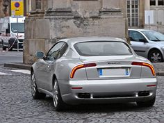 Silver Maserati 3200 GT in Nancy, France 2013 - Maserati 3200 GT - Wikipedia Maserati 3200 Gt, Maserati Car, Rolls Royce Cars, Audi Rs6, Cheap Car Insurance, Best Muscle Cars, Expensive Cars, Amazing Cars, Car Show
