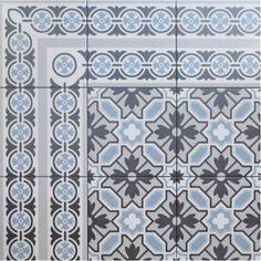 Revoir Paris Toquet Line + Corner Ceramic Tiles, Home, Small Bathroom, Tiles, Decorative Boxes, Tiny Bathroom, Tile Bathroom, Painting Tile, Corner