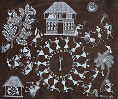 Rhythm and Ritual II - A collection of Warli paintings