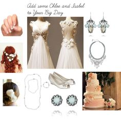 Add some Chloe and Isabel to your big day! www.chloeandisabel.com/boutique/ciaosterhouse Make your day special with this romantic and classy look, wether you are a pearl or crystal kind of girl!