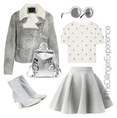 Dillinger Shades Of Grey by kimdillinger on Polyvore featuring polyvore, fashion, style, Alice + Olivia, McQ by Alexander McQueen, Philipp Plein, Maison Margiela, Loeffler Randall, StreetStyle, BloggerStyle, stylestaple, FW2015 and PolyvoreMostStylish