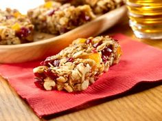 Delicious energy bars recipe - this one never fails