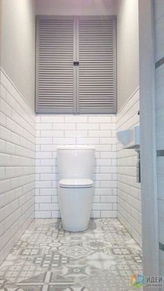 Tile Design for Small Bathroom . Tile Design for Small Bathroom . White Bathroom Tiles, Bathroom Tile Designs, Bathroom Floor Tiles, Bathroom Toilets, Bathroom Interior Design, White Tiles, Metro Tiles Bathroom, Bathroom Small, Bathroom Cabinets