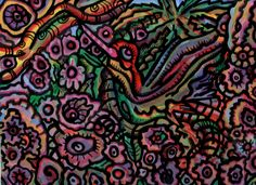 #colibri #abstracto #acrilico #yage #floresta #triptico