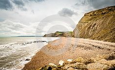These cliffs are part of the Jurassic Coast stretching  along the South Coast of…