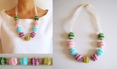 Ravelry: Crochet beads' necklace pattern by Maria Isabel