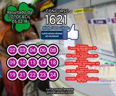 RESULTADO LOTOFACIL CONCURSO 1621 #loterias #lotofacil #loteriasdacaixa