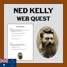 Ned Kelly Web Quest Kelly's Heroes, Ned Kelly, Australian Bush, Project Based Learning, Classroom Displays, Crazy Hair, Outline, Homeschooling, Distance