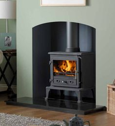 FireFox 8 Wood Burning Stove Side Brick Genuine left or right